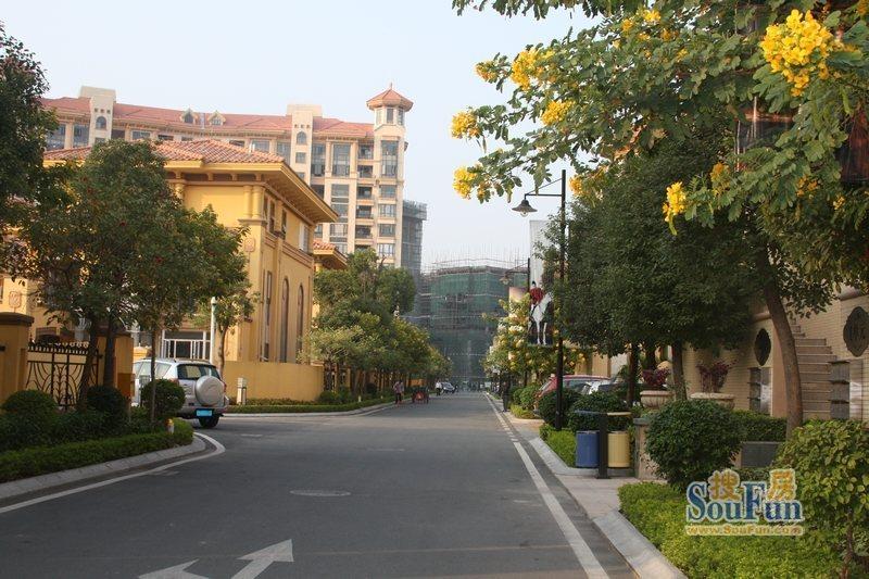 深圳山水华府小区图片