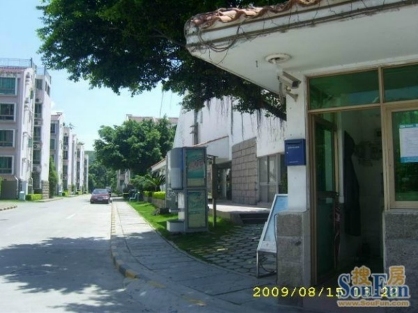深圳南山花园小区图片