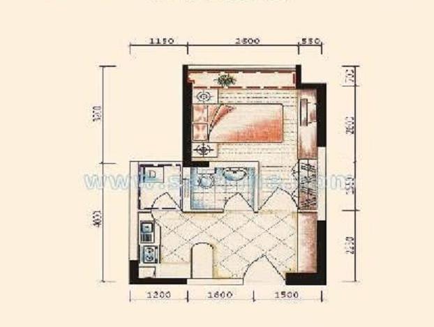 农村90平米三室一厅房屋设计图展示图片