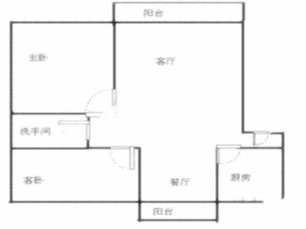 推推99深圳房产网清湖名苑户型图