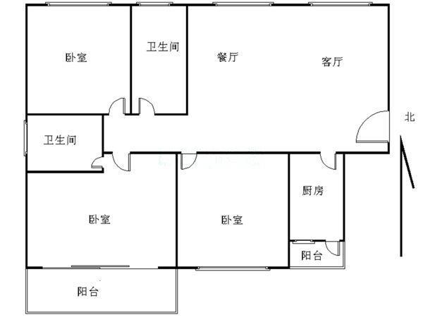 推推99深圳房产网中信龙盛广场户型图