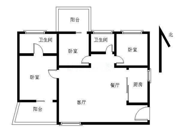 推推99深圳房产网万科金域东郡户型图