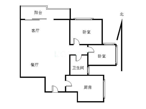 深圳豪方现代豪园户型图