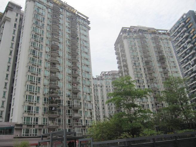 推推99深圳房产网星海名城二期外景图