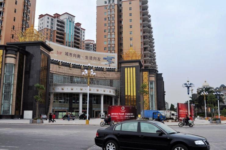 推推99深圳房产网富盈门外景图